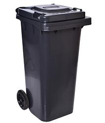 Контейнер для отходов 120 л (черный)