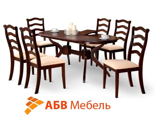 Стол обеденный Доминика раскладной 1500 венге (Domini TM)