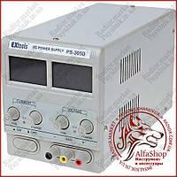 Лабораторний блок живлення EXtools PS-305D, 30B, 5A (12-1420)
