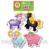 Baby-puzzle. Ферма