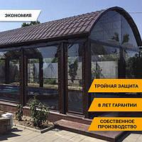 Мягкие окна. Прозрачные ПВХ шторы на молниях