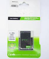 "Аккумуляторная батарея (АКБ)для Nokia (bl-5c). ""Grand Premium"""