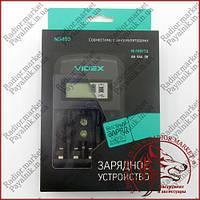 Интеллектуальное зарядное устройство Videx ND400 для аккумуляторов Ni-Mh/Cd AA/AAA