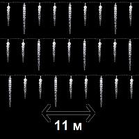 """Гирлянда новогодняя Anna's Collection """"Сосульки"""", 11 м, холодный белый (для дома и улицы), фото 1"""