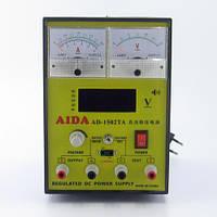 Лабораторный блок AIDA  AD-1502TA, 15V 1.5A, ЦИФРОВАЯ И АНАЛОГОВАЯ ИНДИКАЦИЯ, АВТОВОССТАНОВЛЕНИЕ КЗ