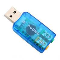 Переходник USB Звуковая карта - Sound 5.1