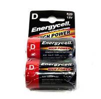 Батарейка Energycell 1.5v R20 (R20-2SB) D солевая