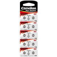 Батарейка Camelion Alkaline 1.5v G3, LR41, 192, SR41W, GP92A, 392