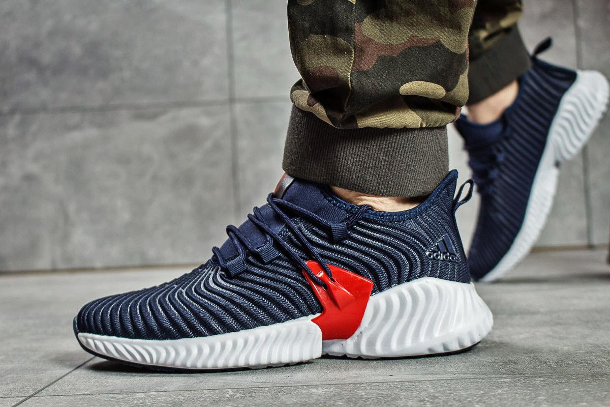Кроссовки мужские Adidas AlphaBounce Instinct, темно-синие (15662) размеры в наличии ► [  41 44  ]