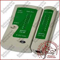 Тестер витой пары и телефонной линии (RJ45 + RJ11) XS-468AT