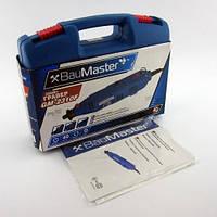 Мини дрель гравер Bau Master GM-2310F 200W (Кейс, гибкий вал, насадки)