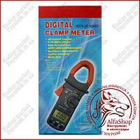 Кліщі струмовимірювальні Digital DT-201, струмові кліщі на змінний струм (Оригінал)