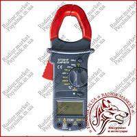Клещи токоизмерительные Digital DT-201F, токовые клещи с подсветкой (Оригинал)