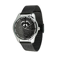 Часы ZIZ Енот черный - второй ремешок в подарок 5012289