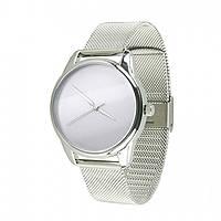 Часы ZIZ Минимализм серебро - второй ремешок в подарок 5000188