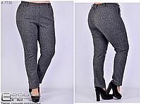 Теплые брюки женские большого размера Размеры 48,50,52,54,56,58
