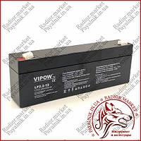 Аккумулятор гелиевый Vipow 12V 2.2Ah (BAT0220)