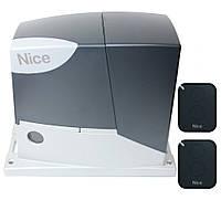 Автоматика для откатных ворот NICE ROBUS RB600 сворка до 600кг