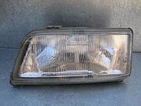 Оригинальная левая фара б/у на Citroen Jumper, Fiat Ducato, Peugeot Boxer (на стекле сколы) год 1994-2002