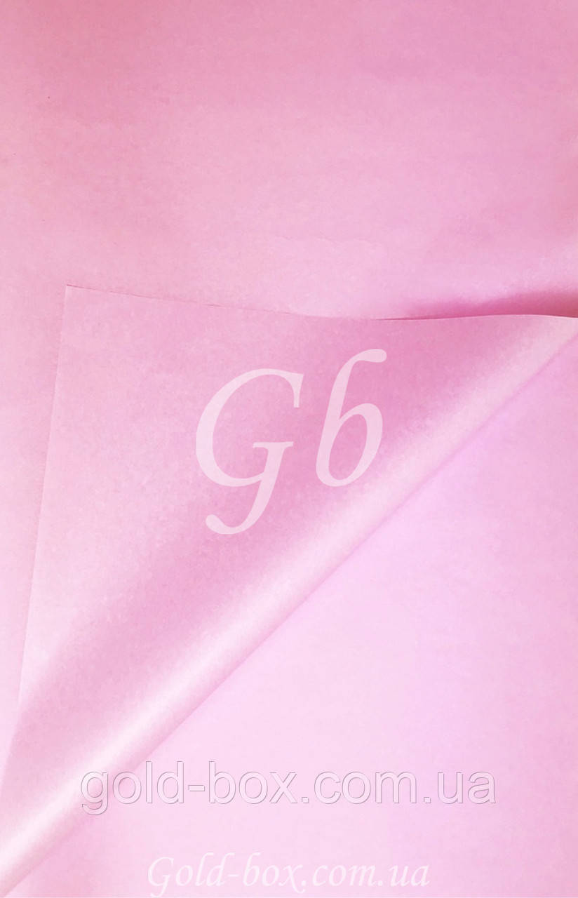 Бумага тишью «Розовая» 50шт