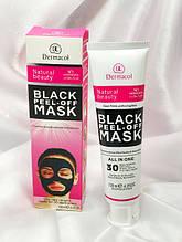 Чорна маска для обличчя Black peel-off mask Dermacool