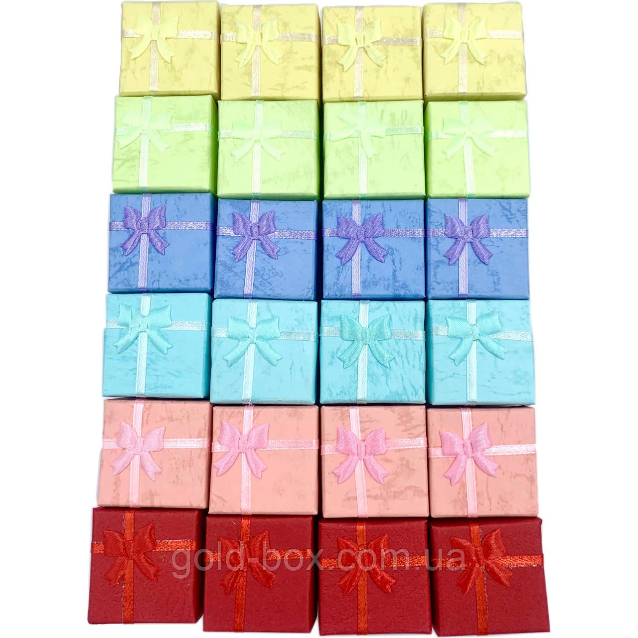 Подарочные коробочки 24шт «sucré» под кольца