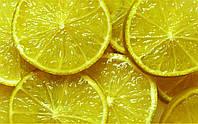 """Печать на самоклеющейся пленке """"лимоны"""""""
