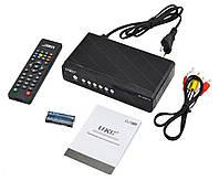 Тюнер DVB-T2 2558 METAL с поддержкой wi-fi адаптера | цифровой ресивер | цифровая смарт тв приставка