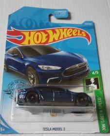 Коллекционная машинка Хот Вилс Tesla Model S