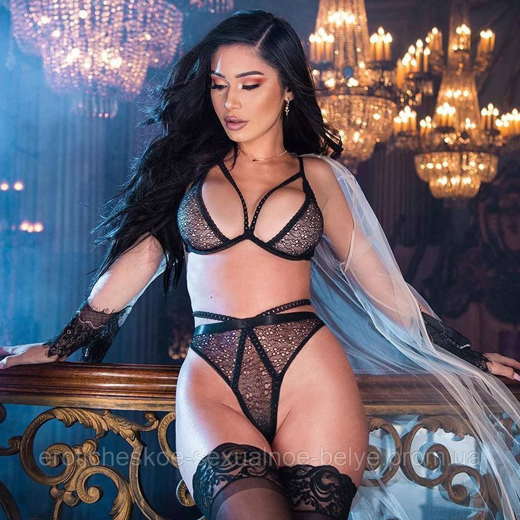 Комплект белья / Эротическое белье / Сексуальное белье / Еротична сексуальна білизна