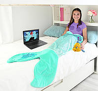 Детский плед хвост Русалки Ариэль Disney Blankie Tails BT0093-B