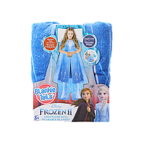 Детский плед-платье Холодное сердце 2 Эльза Disney Blankie Tails BT0091-B
