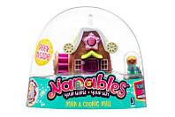"""Игровая фигурка Jazwares Nanables Small House Город сладостей, Магазин """"Печенье с молоком"""""""
