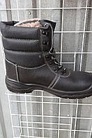 Зимние мужские рабочие берцы с металлическим носком, товар сертифицирован