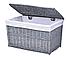 Плетеная корзина 46x76x46 см - 160 л (перуанский серый), фото 2