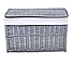 Плетеная корзина 46x76x46 см - 160 л (перуанский серый), фото 3