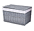 Плетеная корзина 46x76x46 см - 160 л (перуанский серый), фото 4