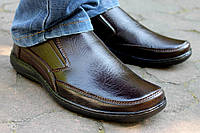 Мужские туфли без застежки