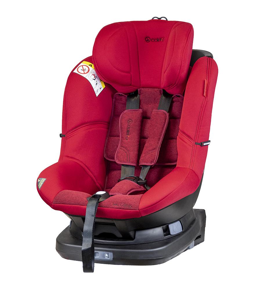 Детское автокресло Coletto Millo Isofix 0-18 red