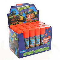 """Клей-олівець """"1 вересня""""  8гр. 320215 PVA """"Ninja Turtles"""""""
