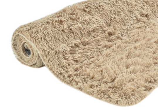 Ковер SHAGGY 120x170 см ( коричневый / латте)