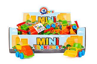 Іграшка «Транспорт Міні ТехноК», 5897 7 видів, 42 шт в кор. 39.5х27.5х13.5 см