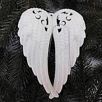 """Новогоднее украшение """"Крыло Ангела"""" 15 см"""