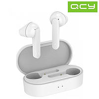 Беспроводные Bluetooth наушники QCY T3 White Xiaomi  TWS Bluetooth 5.0