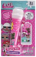 Детский Микрофон L.O.L.