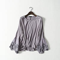 Модные блузки из трикотажа