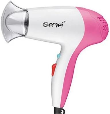 Профессиональный компактный фен для сушки волос Gemei GM 1711