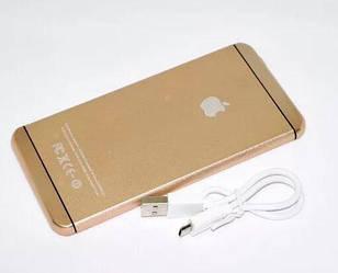 Внешний аккумулятор Power Bank iPhone 16000 mAh золотой | Power bank | зарядное устройство | павербанк