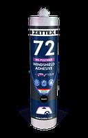 Полимер Zettex Windshield Adhesive MS Polymer 72 Черный, 290 мл (495328)