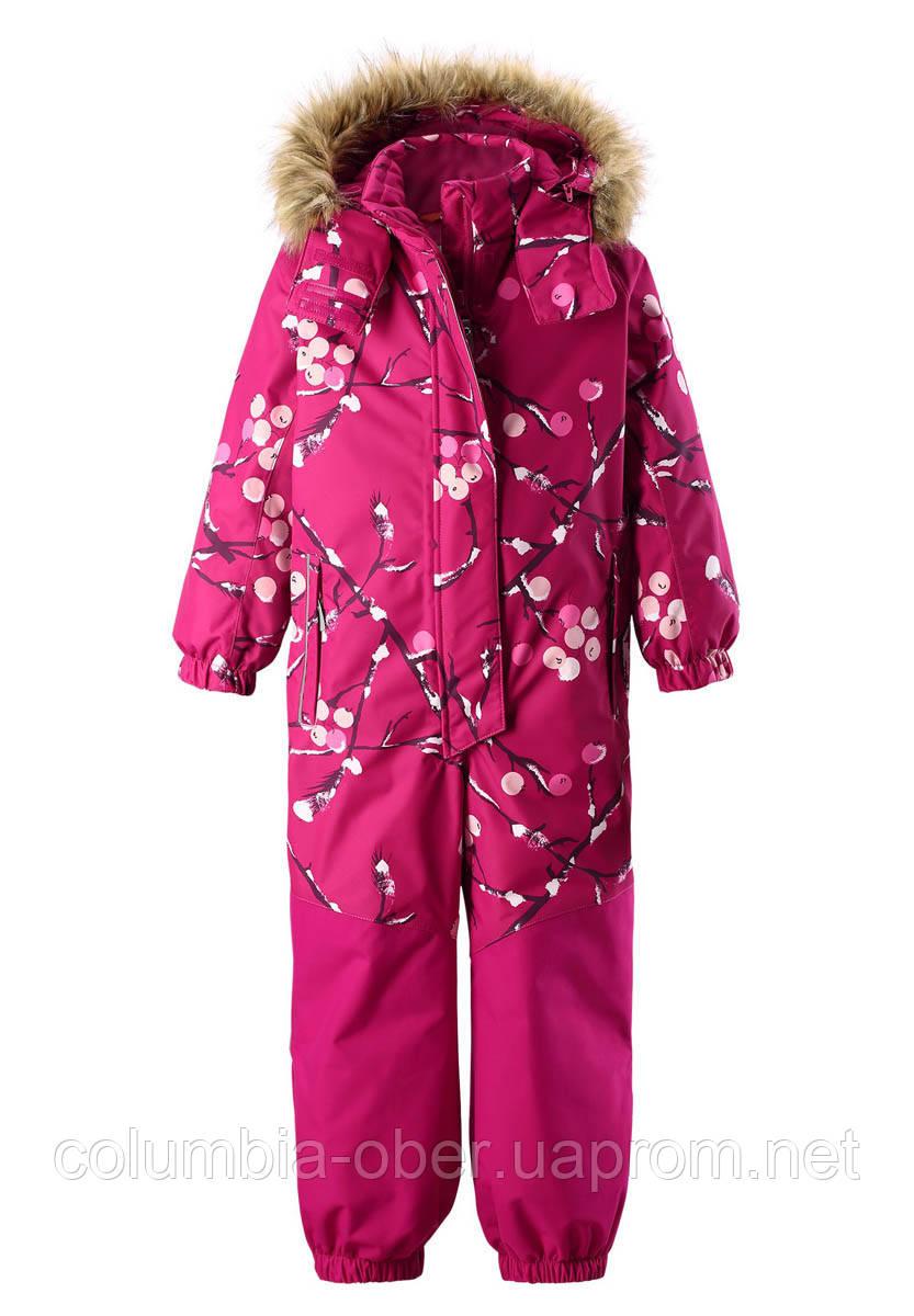 Зимний комбинезон для девочки Reimatec Oulu 520262-3602. Размеры 104 - 128.